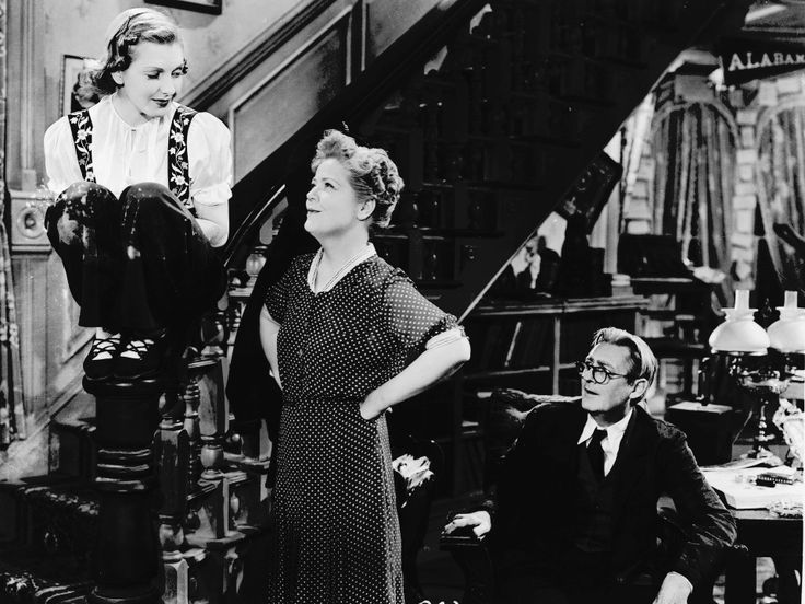 1938 - 'You Can't Take it With You' | Jean Arthur,  Spring Byington and Lionel Barrymore