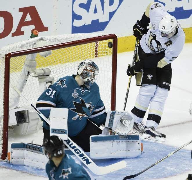 June 6, 2016 — Stanley Cup Final: Penguins 3, Sharks 1 (Photo: Chaz Palla     Tribune-Review)