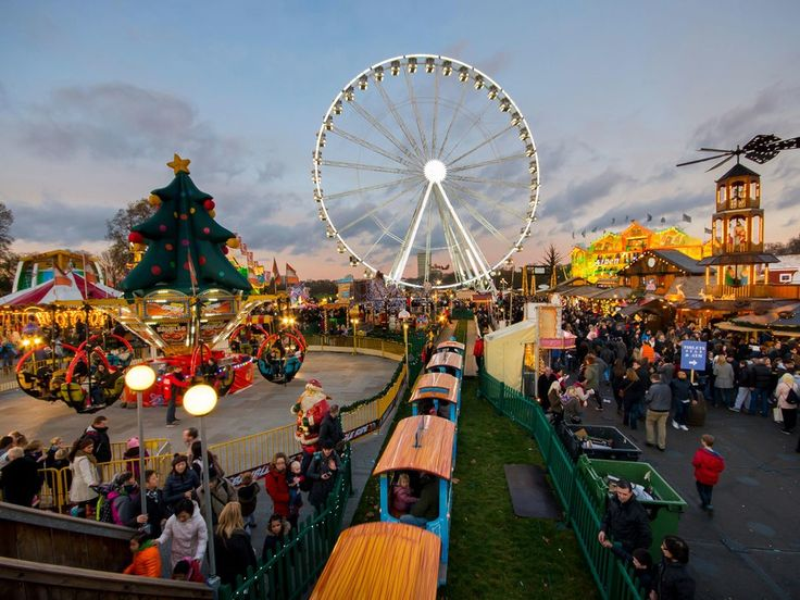 Visiting London during the holiday season? Stop by Hyde Park and visit Winter Wonderland with the family (it runs Nov. 21–Jan. 4). It's extra to ride the observation wheel, ice skate, or visit the ice kingdom, but general admission is free.