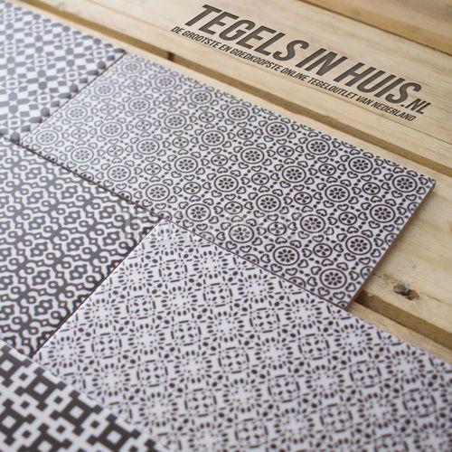 Wandtegel Noir 10x20cm vlak mix decor mat - Artikelcode: TOZCW261. - Nu in de aanbieding voor slechts € 26,75 p/m2 incl. BTW bij Tegels in Huis.nl