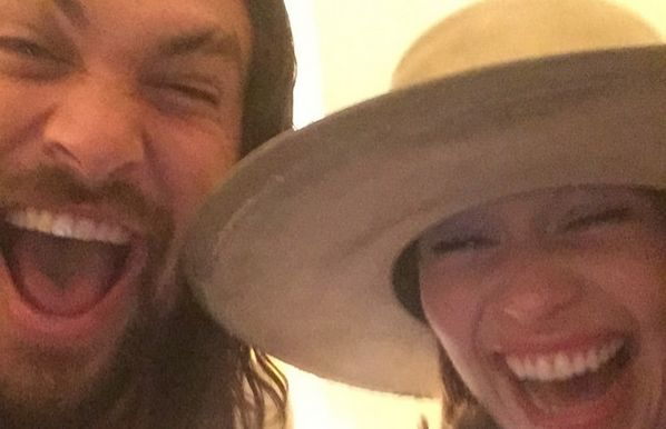 Emilia Clarke And Jason Momoa Had An Adorable 'Game Of Thrones' Reunion