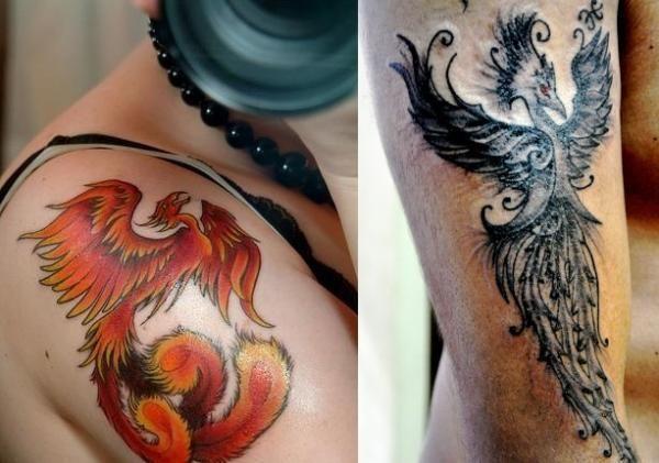 What is the Meaning of Phoenix Tattoos  #tattoos #tattooart #phoenix