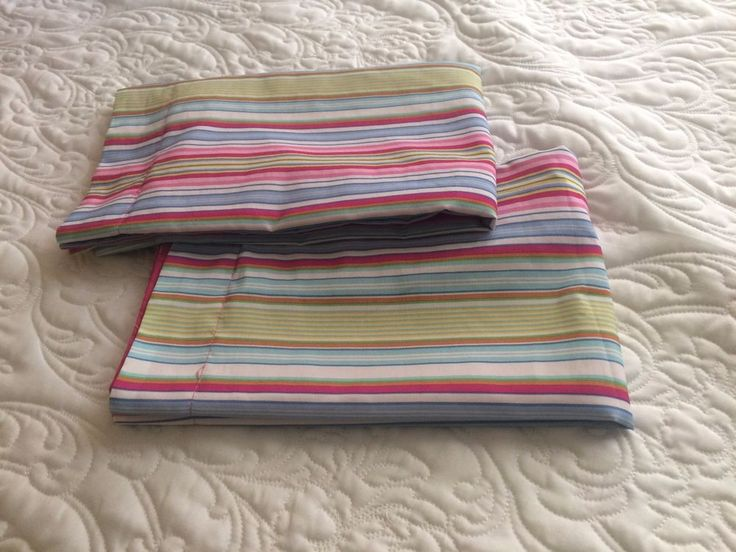 Pillowcases Shams Candy Stripe Tommy Hilfiger Standard Size #TommyHilfiger #Contemporary