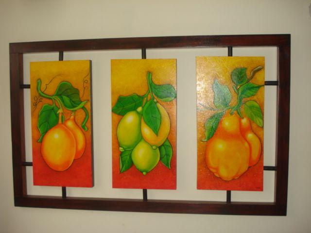 Cuadros con texturas abstractos frutas buscar con google for Cuadros cocina modernos