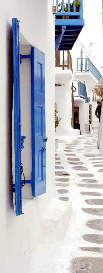 Mykonos- I've walked this road before :)