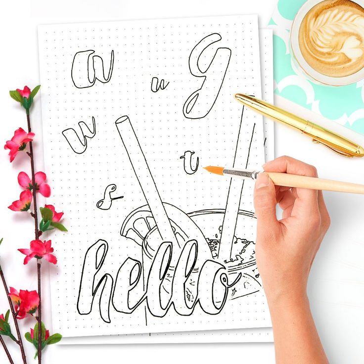HELLO AUGUST - 15 FREE PRINTABLE CALENDAR PAGES FOR YOUR BULLET JOURNAL AUGUST SETUP 2016 // I drew my first Hello Month spread this June and I enjoyed it immensely. Since I know that quite a few of you enjoy coloring I thought why not turn it into a monthly coloring page. I plan on setting up a page for all your artsiness in regard of my printables (I already have a few of my mandalas you beautifully colored). I love them to pieces! So if you color it all in make sure to link to it in the…