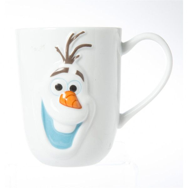 Disney Frozen Olaf Mug, Brands, all, Brands, Lunchware, Cups &... (33 EGP) ❤ liked on Polyvore featuring home, kitchen & dining, drinkware, christmas mugs, disney mugs, christmas cups, disney and christmas drinkware