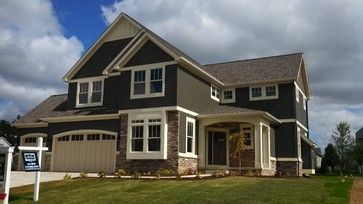 mastic vinyl siding - misty shadow