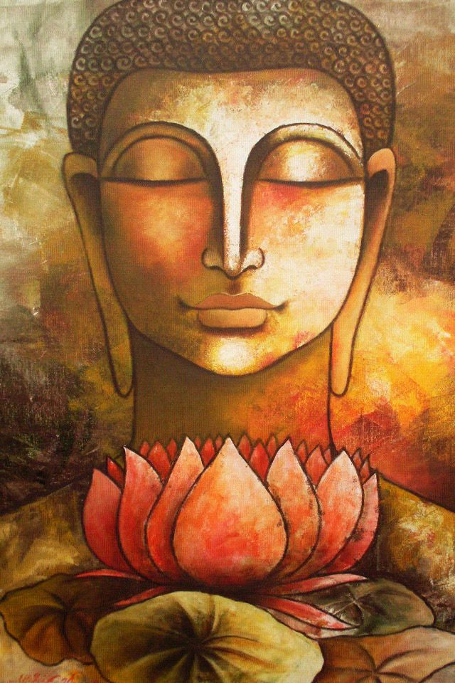 Buddha and a lotus flower. I meditated this week on purifying my mind like a lotus flower blooming out of muddy water......