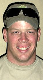 Army CPT Brian M. Bunting, 29, of Potomac, Maryland. Died February 24, 2009, serving during Operation Enduring Freedom. Assigned to U.S. Army Reserve, attached to 27th Infantry Brigade Combat Team, New York Army National Guard, Syracuse, New York. Died of injuries sustained when an improvised explosive device detonated near his vehicle during combat operations in Kandahar, Afghanistan.
