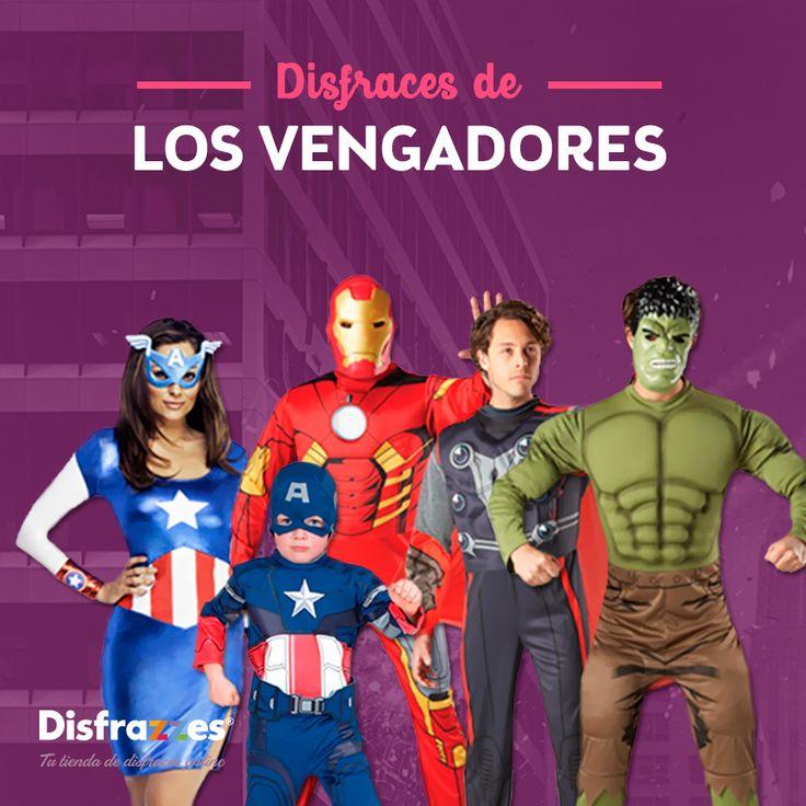 Disfraces de #LosVengadores #LosVengadores2 #TheAvengers #TheAvengers2 #Marvel #Disfraz #Disfraces #Superheroe #Superheroes #Superhero #Superheros
