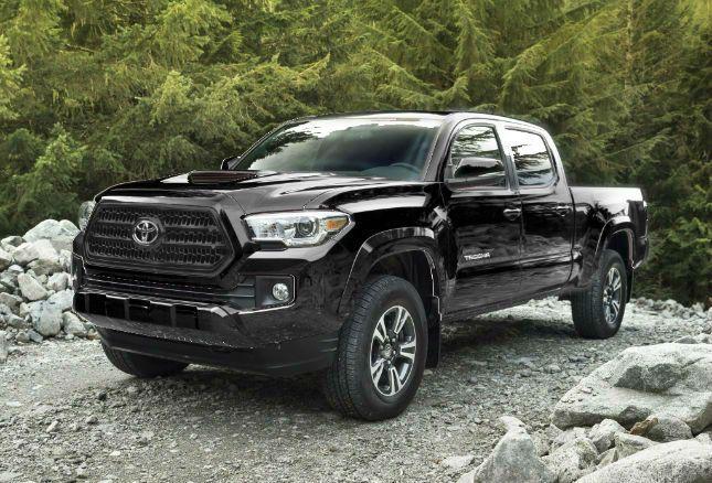 2016 Toyota Tacoma TRD Sport Black