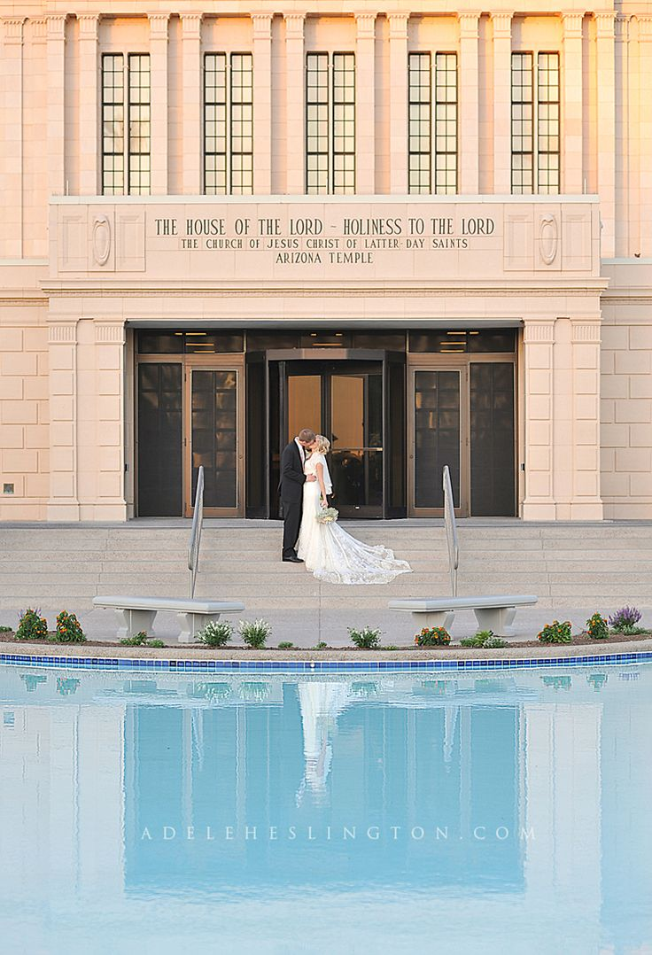 I love to see the Temple!  Mesa Temple Wedding