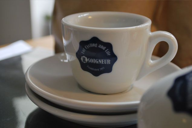 (iL) Soigneur Espresso Cup and Saucer