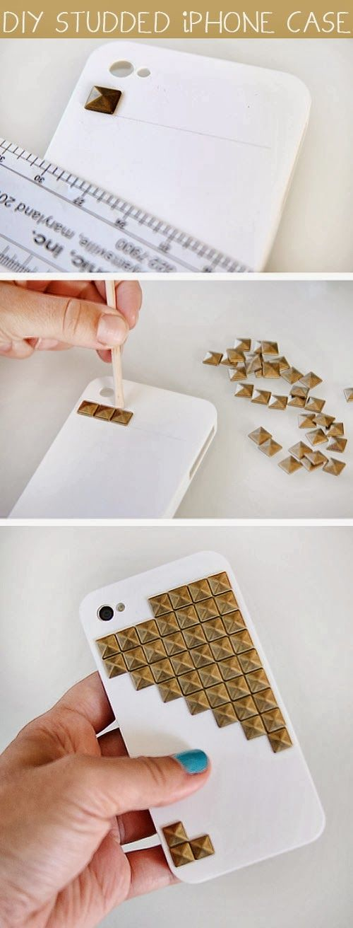 How To Studded iPhone Case