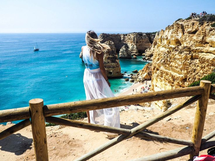 THE BEST BEACH IN THE ALGARVE | PRAIA DA MARINHA