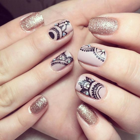 234 best Uñas images on Pinterest | Nail art, Nails design and Pedicures