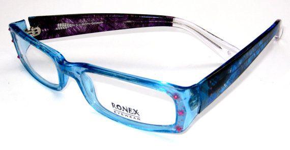 Mothers day Gift Blue Eyeglasses Eyeglasses Womens Eyewear