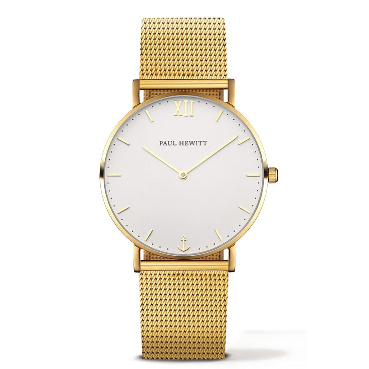 Uhr Sailor Line White Sand IP Gold Metallband IP Gold 180€