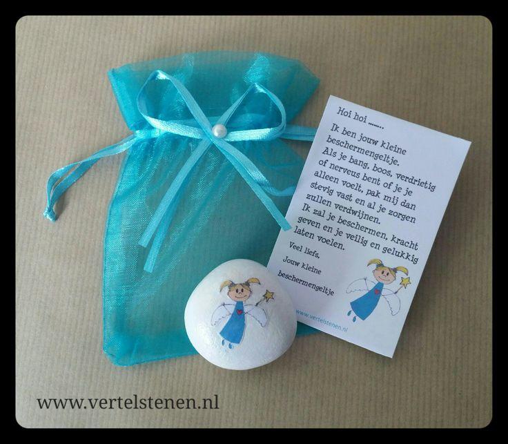 Speciaal voor kindjes die wel wat steun kunnen gebruiken, een lief klein beschermengeltje