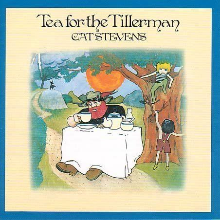 ☮ American Hippie Rock Music Album Cover Art Posters ~  Cat Stevens - Tea for the Tillerman