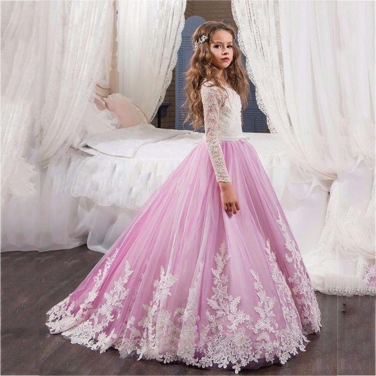 69 best vestidos niña diy images on Pinterest   Children dress ...