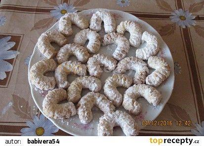 Vanilkové rohlíčky I. recept - TopRecepty.cz