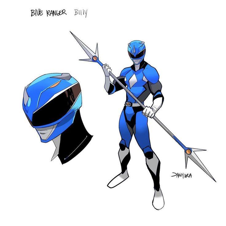 MMPR Blue Ranger by Dan Mora Chaves #∆∆shani