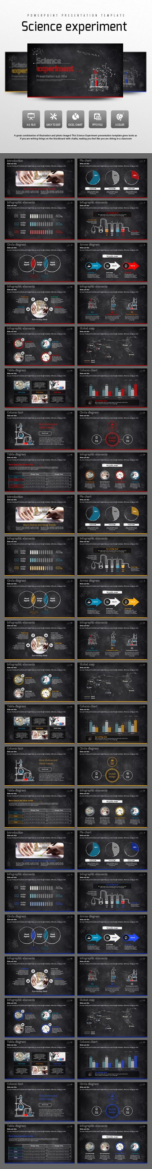 Science Experiment PowerPoint Template. Download here: http://graphicriver.net/item/science-experiment/14875335?ref=ksioks