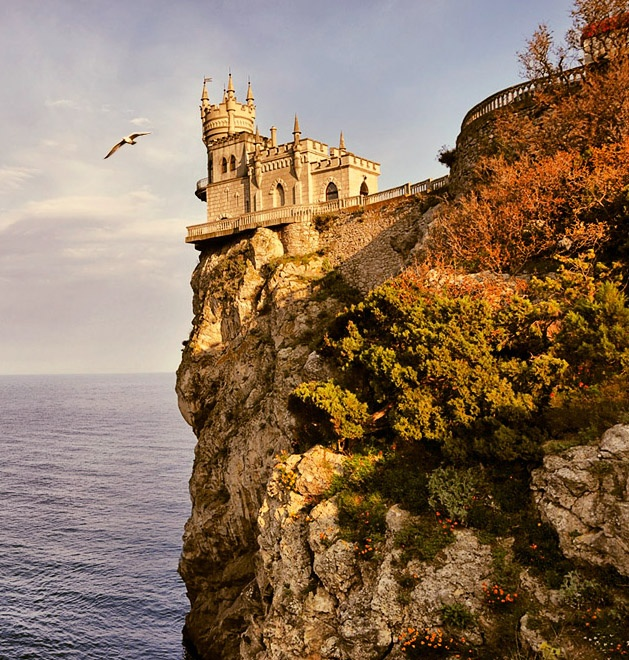 Swallows Nest A Russian NeoGothic Imperial CliffEdge Castle
