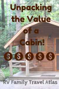 Some people think the prices on cabins are too expensive, but we happen to think they are actually a great value! Here's why...