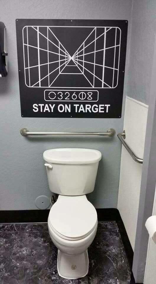 Man Cave Bathroom Signs : Best star wars images on pinterest