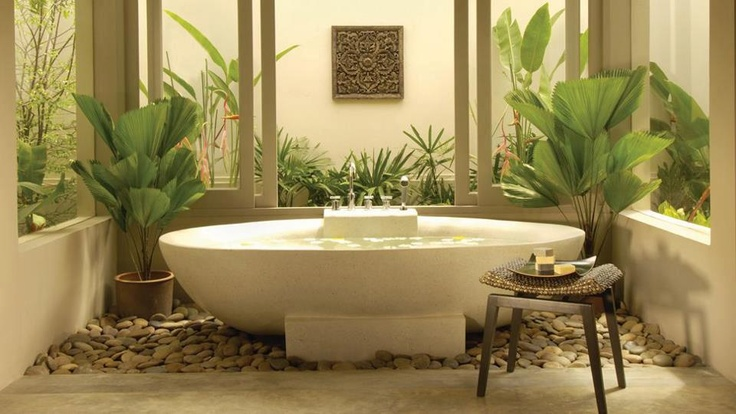 beautiful bathtub