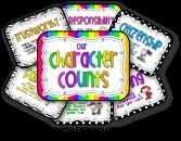 Brightly Colored Character Counts product from Teaching-in-Flip-Flops on TeachersNotebook.com