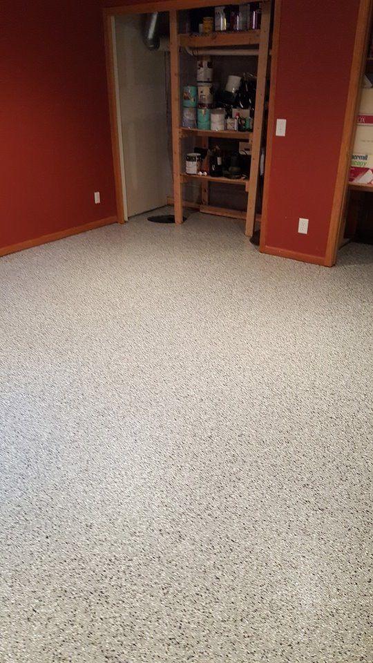 Hp Spartacote Granite Vinyl Flake Polyaspartic Garage
