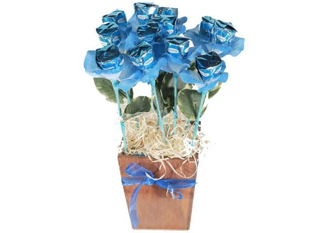 Blue Bloom at Chocolates Bouquets | Ignition Marketing Corporate Gifts