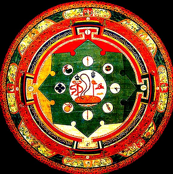 1000 images about tibetan mandala on pinterest tibet tibetan art and buddhists - Mandalas signification formes ...
