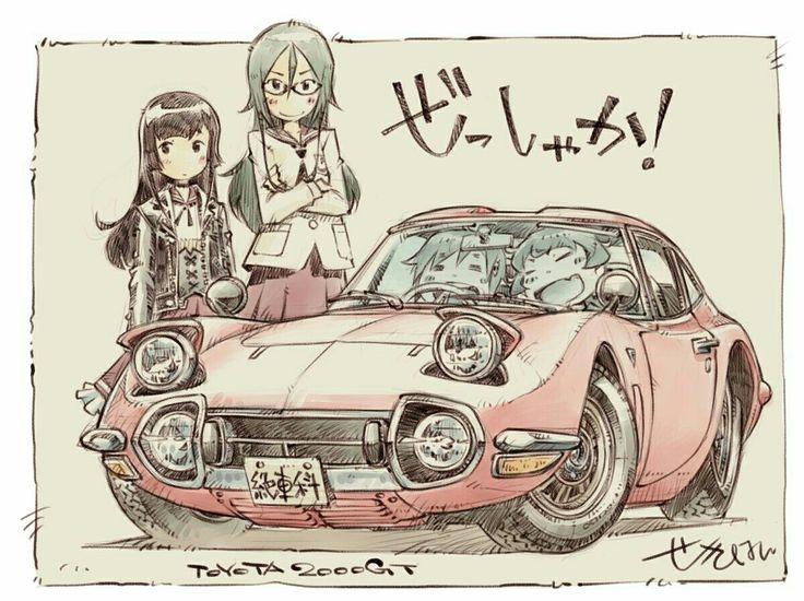 Cars おしゃれまとめの人気アイデア Pinterest Keith Fulmis 車の絵 ポンチ絵 キャラクターアート