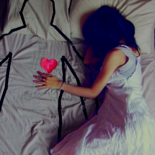 I hate sleeping alone this is me every night :(