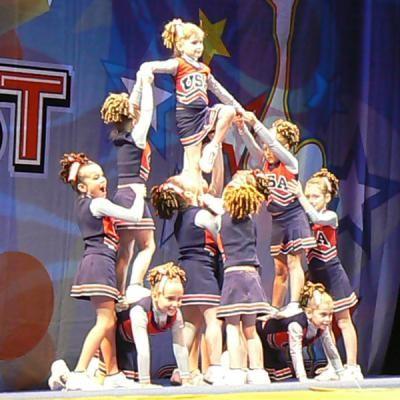 cheerleading pyramids - Google Search