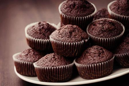 Μάφιν σοκολάτας (μικρά κεκάκια) - Γρήγορες Συνταγές | γαστρονόμος online