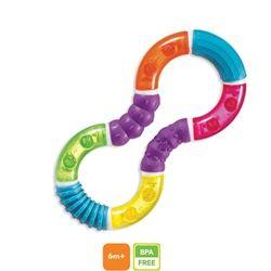 Jucarie Dentitie Figura 8 Twisty - Igiena si Sanatate Munchkin