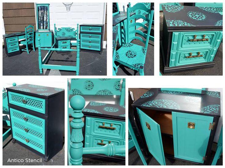 Superior Best 25+ Turquoise Painted Furniture Ideas On Pinterest   Turquoise  Furniture, Distressed Turquoise Furniture And 2nd Hand Furniture