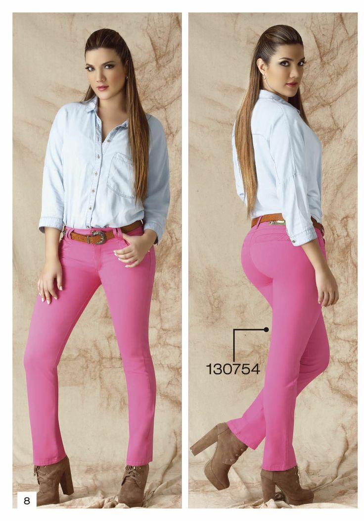 pantalon-de-drill-bota-tubo-color-fucsia - Sexy, yet Casual #Fashion #sexy #woman #womens #fashion #neutral #casual #female #females #girl #girls #hot  #hotlooks #great #style #styles #hair #clothing  www.ushuaiajean.com.co