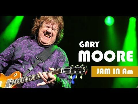 Gary Moore Style Ballad Guitar Backing Track Jam in A minor