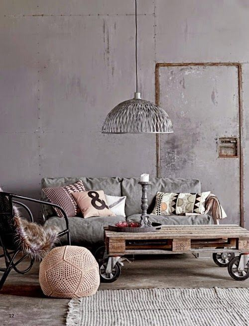 89 best Industrial Style @ AS Création images on Pinterest - industrial chic wohnzimmer