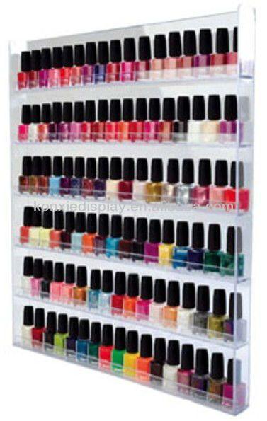 botella 102 la cantidad de pared de esmalte de uñas de la pantalla-Góndolas/Mostradores/Expositores-Identificación del producto:694806966-sp...