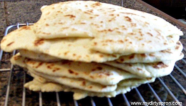Soft Wrap Bread Recipe - My Dirty Apron