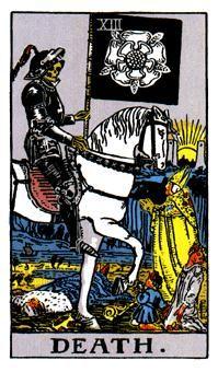 LA MUERTE, Significado de las cartas del Tarot