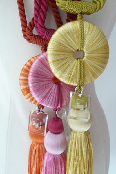 The Buddha Tassels in 5 colors. Perfect for FALL.